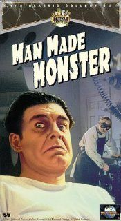Man Made Monster [VHS] Lionel Atwill, Lon Chaney Jr