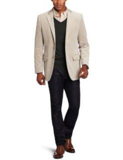 Joseph Abboud Mens 2 Button Side Vent Corduroy Coat