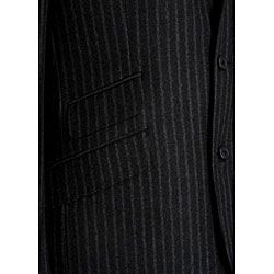Ibiza Mens Italian Wool Flannel 3 button Suit