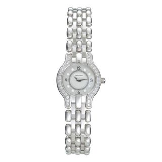 Concord Womens Veneto 18k White Gold Quartz Diamond Watch