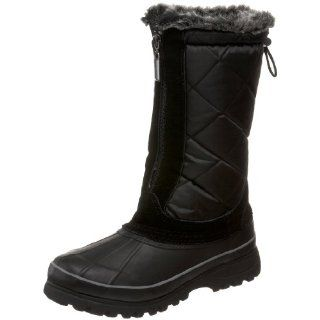 Khombu Womens Upland 2 Faux Fur Waterproof Boot,Black,10 M US Shoes