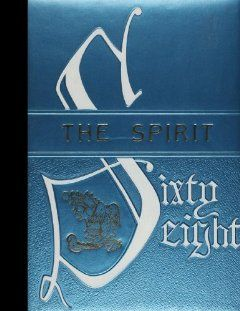 Reprint) 1968 Yearbook Seagoville High School, Dallas, Texas