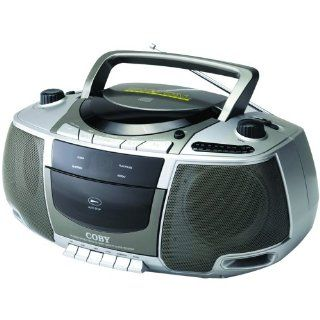Coby CX CD248 Portable CD/Radio/Stereo Cassette Player