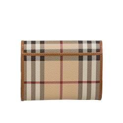 Burberry Haymarket Check Tri fold Wallet