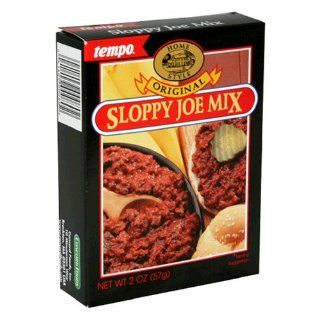 Tempo Sloppy Joe Mix, 12 Count Box of 2 Ounce Packets