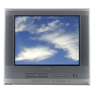 Toshiba MW27F51 27 inch Flat Tube TV/VCR/DVD Player Combo with 4 in 1