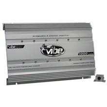 Lanzar VIBE241 Vibe 1000 Watt 2 Channel Mosfet Amplifier
