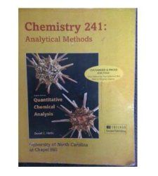 Quantitative Chemical Analysis 8th Edition   Chemistry 241 Analytical