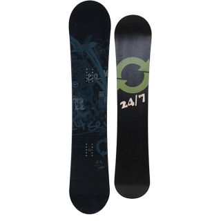 24/7 Mens 156 Night SW Snowboard