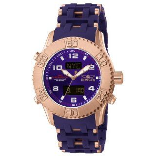 Invicta Mens 5686 Sea Spider Collection Ana Digi GMT Rose Gold Tone