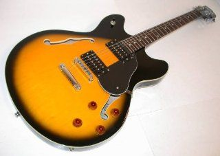 Oscar Schmidt OE30 Hollow Body Electric Guitars, Tobacco