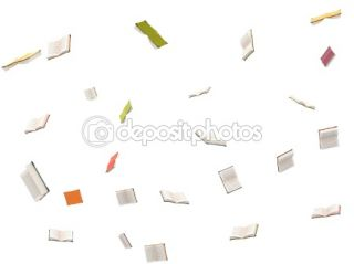 Flying open books  Stock Photo © Ribkov Dagim #1360726