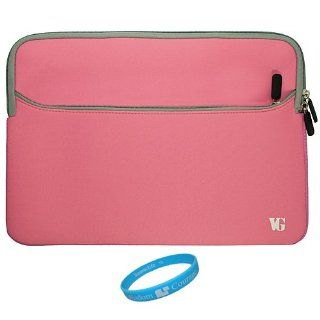SumacLife Pink Neoprene Sleeve Carrying Case for Sony S1 9