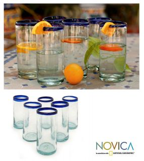 Cobalt Kiss 6 piece Drinking Glass Set (Mexico) Today $44.49 4.6 (35