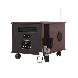 Infralife 300PTC Digital Infrared Space Heater with Music Today $169