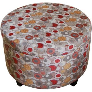 Geometric Round Storage Ottoman Today $84.99 4.0 (5 reviews)