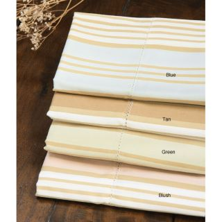 Cabana Stripe 400 Thread Count Cotton Sheet Set