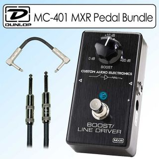 Dunlop MC 401 MXR Custom Audio Electronics Boost Pedal Kit