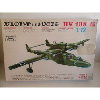Blohm and Vosss BV 138 Flying Boat Plastic Model Kit