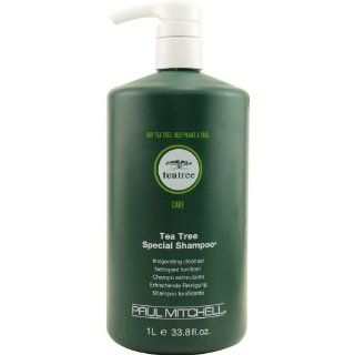Paul Mitchell Care Tea Tree Special Shampoo 1000ml Inc Pump