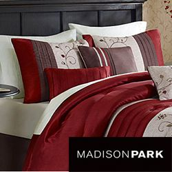 Madison Park Belle 7 piece Poly Polyoni Classic Woven Comforter Set
