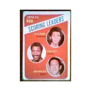 1971 72 Topps #138 Lew Alcindor/Elvin Hayes/John Havlicek