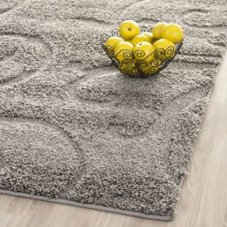 Ultimate Dark Grey Shag Rug (67 Square)