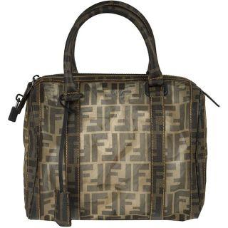 Fendi Baulotto Forever Zucca Netted Handbag