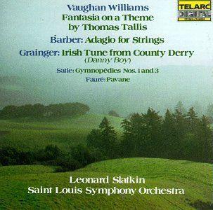 Tallis Fantasia/Adagio/Saint Louis [Musikkassette] Musik