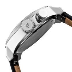 Swiss Legend Mens SL Pilot Black Leather Watch