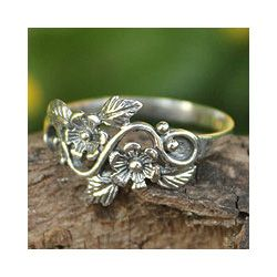 Sterling Silver Siam Rose Cocktail Ring(Thailand) Today $21.49 3.5
