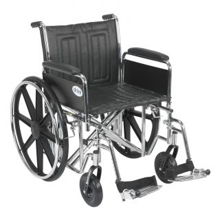 Drive Medical Sentra EC Heavy Duty Wheelchair with Riggings Today $