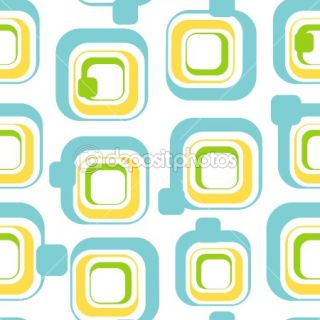 Seamless light wallpaper  Vector Stock © Podrezov Alexander #1375025
