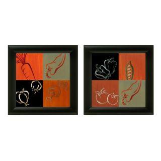Lanie Loreth Smorgasbord Garden 2 piece Framed Wall Art