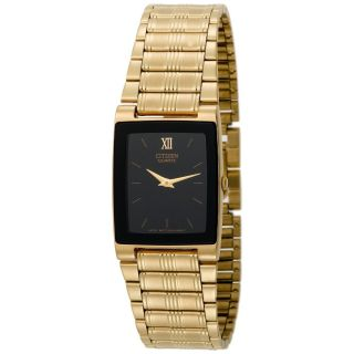 Citizen Eco drive Mens BB0182 55E Goldtone Watch