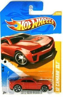 : 2012 Hot Wheels New Models 12 Camaro ZL1 Red #9/247: Toys & Games