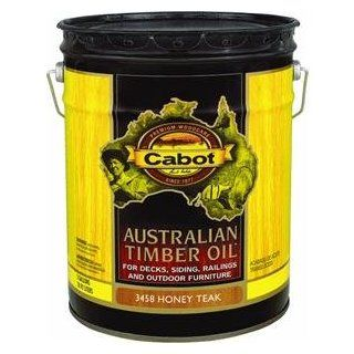 Cabot 140.0003458.008 Australian Timber Oil   Honey Teak   5 Gallon
