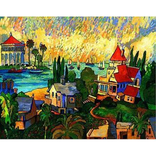 Avi Thaw Catalina Gallery wrapped Canvas