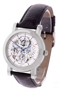 Stuhrling Original Mens Symphony Skeleton Automatic Watch