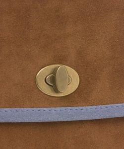 Miu Miu Suede Flap Over Handbag