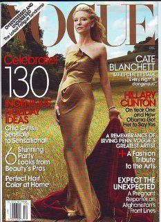 Vogue Magazine, November 2006, Cate Blanchett (the cost of looking