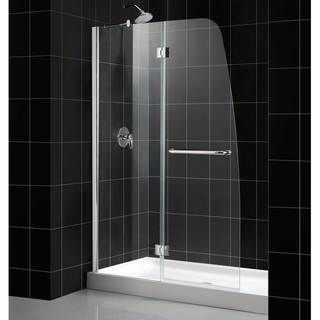 DreamLine Aqua 48x72 inch Clear Glass and Chrome Shower Door