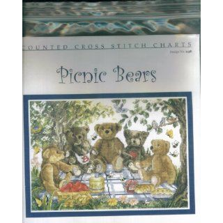 Couned Cross Sich Chars Design No. 248. Picnic Bears
