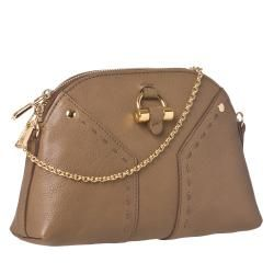 Yves Saint Laurent Muse Mini Mocha Leather Clutch