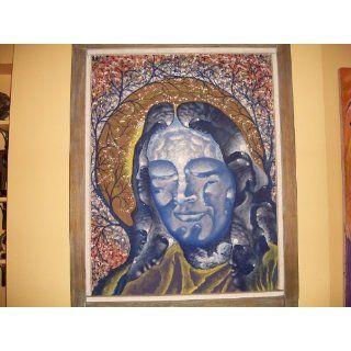 Art Peter Potoma Oil Painting Yukteswar Yogananda 1