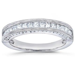 14k Gold 1/2ct TDW Princess Diamond Band (H I, I1 I2)