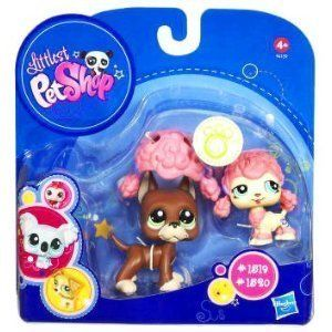 Littlest Pet Shop   Dogge #1519 + Pudel #1520   OVP