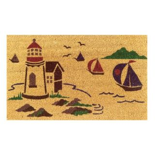 Sea Side Coir Door Mat (30 x 18)