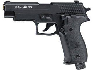 RAM X50 Sig Sauer Paintball Pistol Blowback Black: Sports