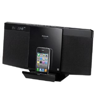 Panasonic SC HC25 Compact iPod/ iPhone Dock System (Refurbished